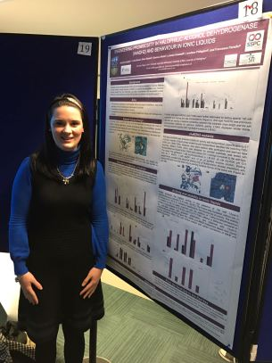 December 2016: Jenni's poster astonishes at CSCB symposium