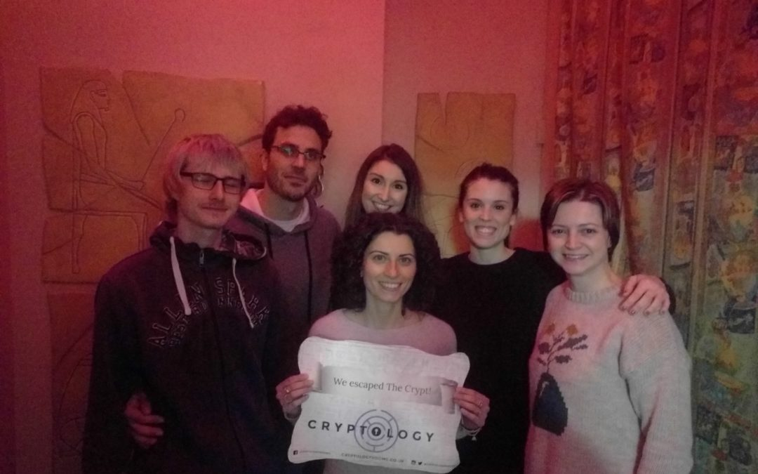 Paradisi group escaped the Crypt !!!